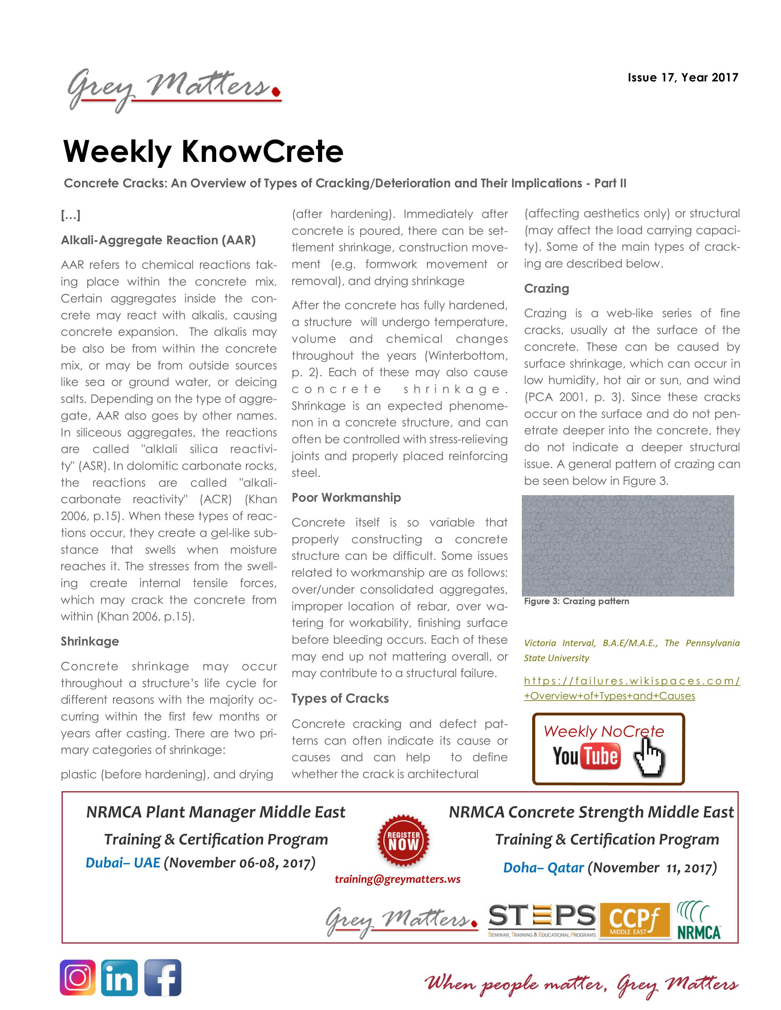 Know crete weekly knowcrete 2017 17 1betcityfo Images